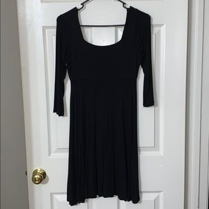 Soft Black Dress